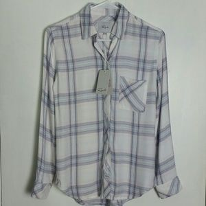 NWT Rails Hunter Plaid Shirt XXS